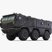 Kamaz Taifun Armata 3d model