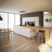 Interior da cozinha 3 3d model