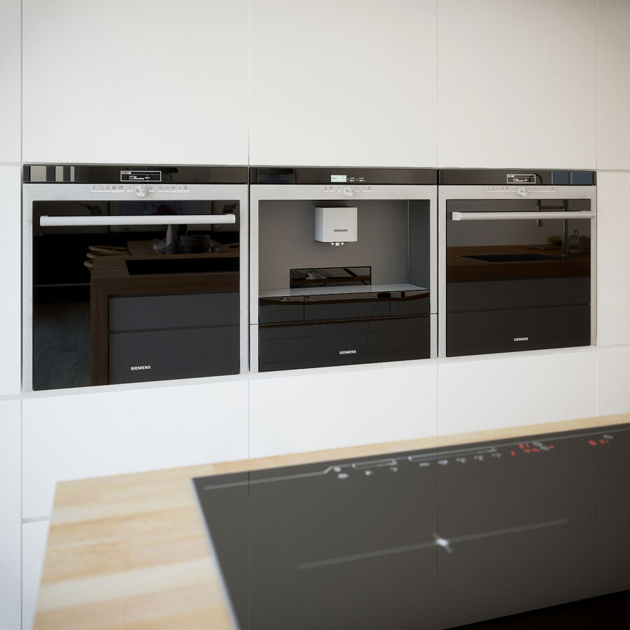 Interior da cozinha 3 royalty-free 3d model - Preview no. 13