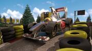 Cartoon Formel 1 Rennstrecke 3d model