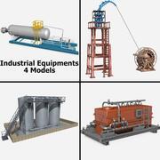 Industriell utrustning 3d model