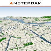 Amsterdam City Complete 3d model