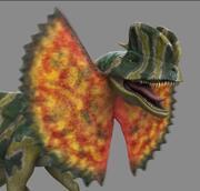 Dilophosaure 3d model