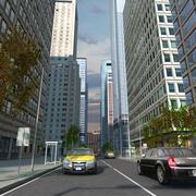 Bloc de ville en temps réel 3d model