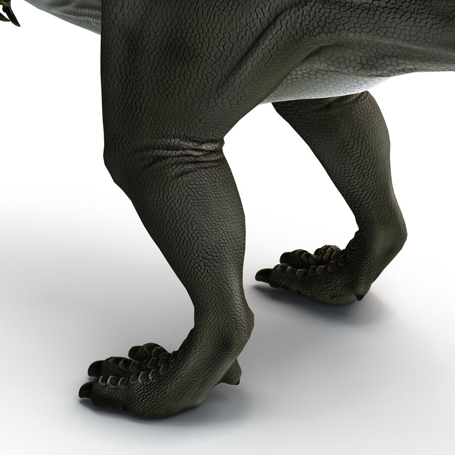 Spinosaurus Rigged royalty-free 3d model - Preview no. 12