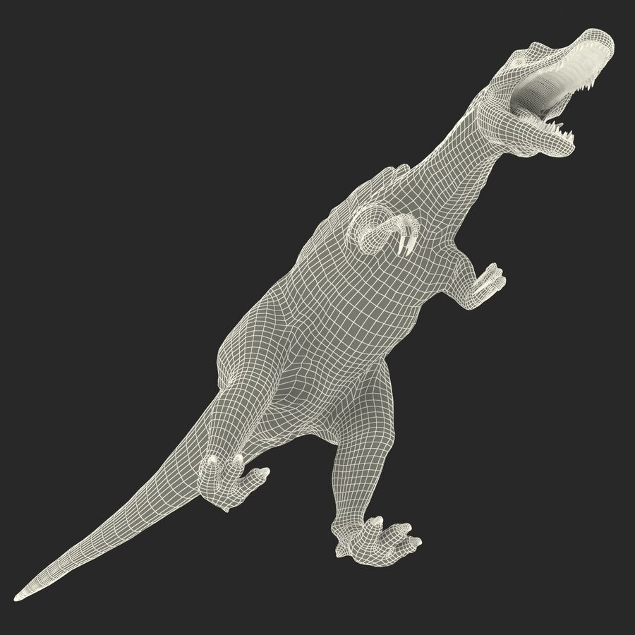 Spinosaurus Rigged royalty-free 3d model - Preview no. 40