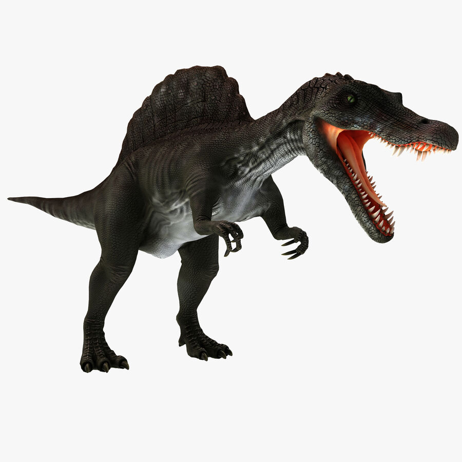 Spinosaurus Rigged royalty-free 3d model - Preview no. 1