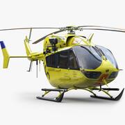 유로콥터 EC 145 비상 (1) 3d model