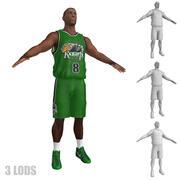 Koszykarz 3 LODs 3d model