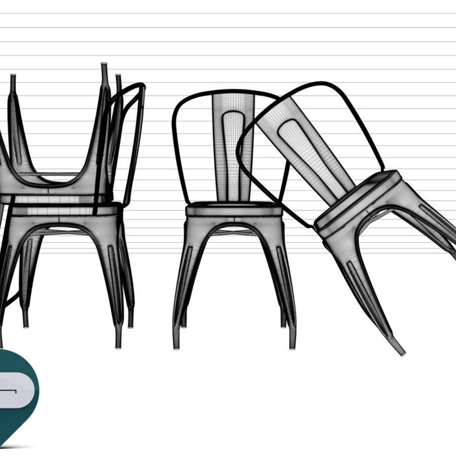 Tolix chair 3D Model $18 -  unknown  c4d  obj  fbx  3ds - Free3D