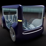 Mini bus(concept styled) 1 3d model