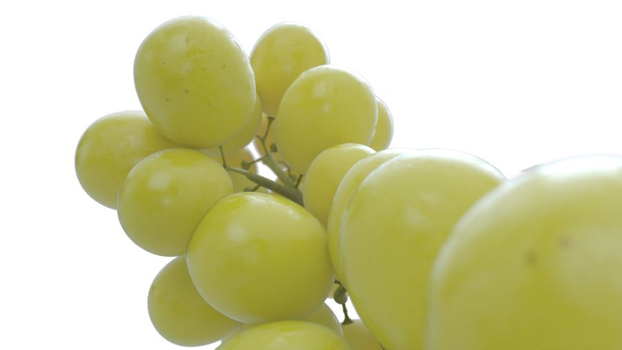 Realistic Grapes royalty-free 3d model - Preview no. 6