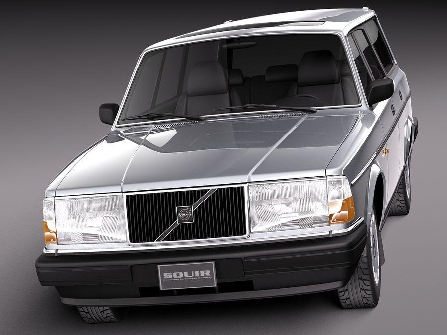 Volvo 240 Kombi Eu 1993 3d Modell 129 C4d Max Obj Lwo