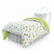 Łóżko dziecięce 3d model