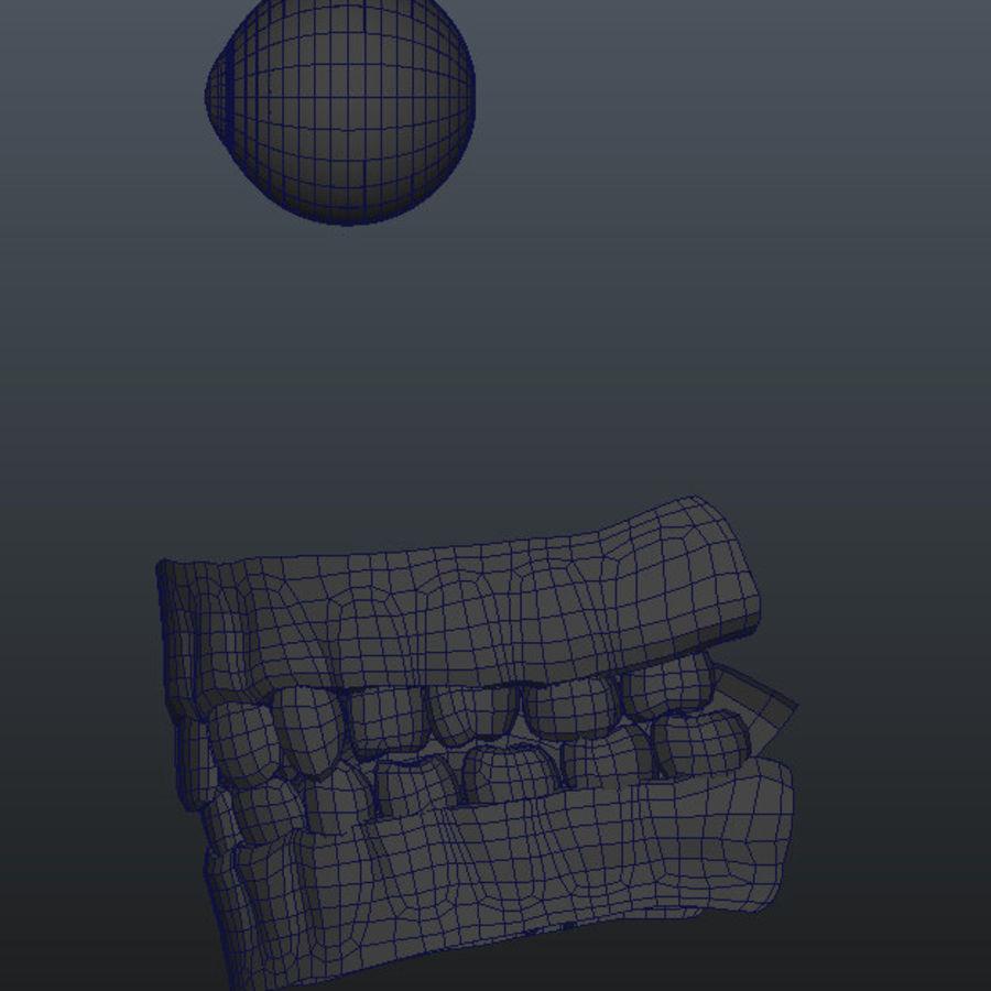 Human Male Base Mesh royalty-free 3d model - Preview no. 16