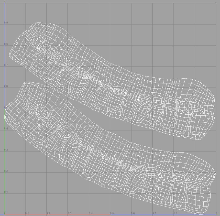Human Male Base Mesh royalty-free 3d model - Preview no. 34
