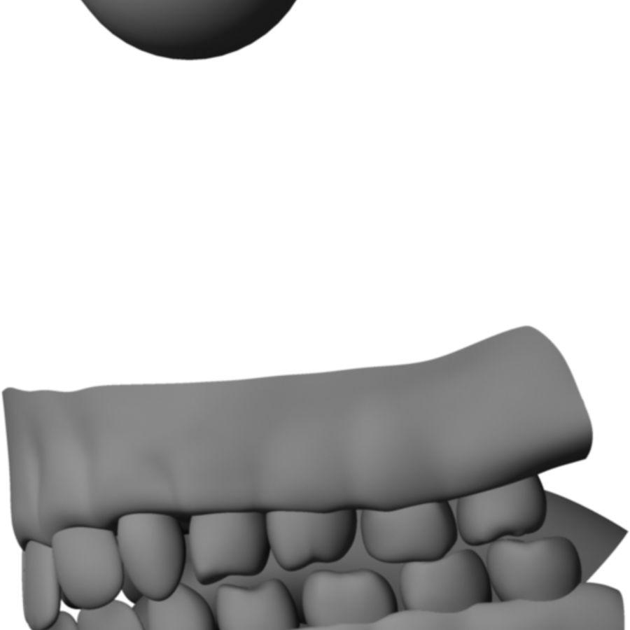 Human Male Base Mesh royalty-free 3d model - Preview no. 4