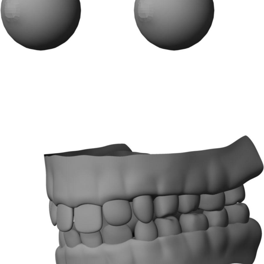 Human Male Base Mesh royalty-free 3d model - Preview no. 20