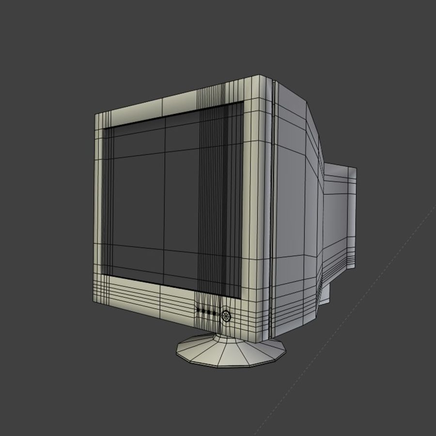 Monitor royalty-free 3d model - Preview no. 5
