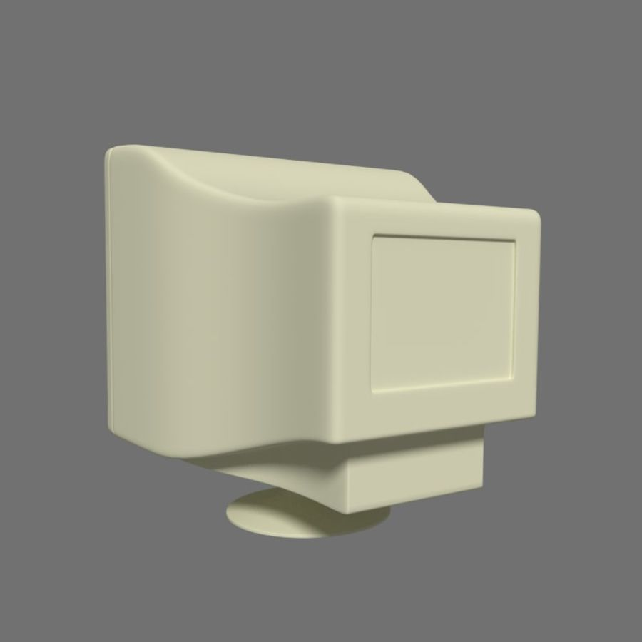 Monitor royalty-free 3d model - Preview no. 8
