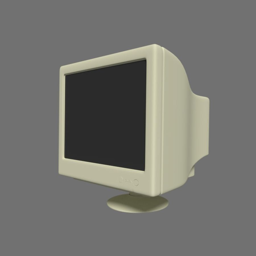 Monitor royalty-free 3d model - Preview no. 1