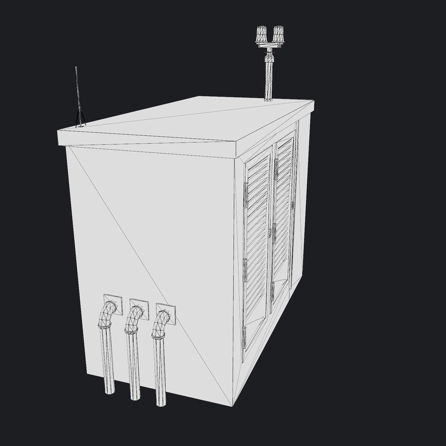 Elektronik Skydd 01 royalty-free 3d model - Preview no. 11