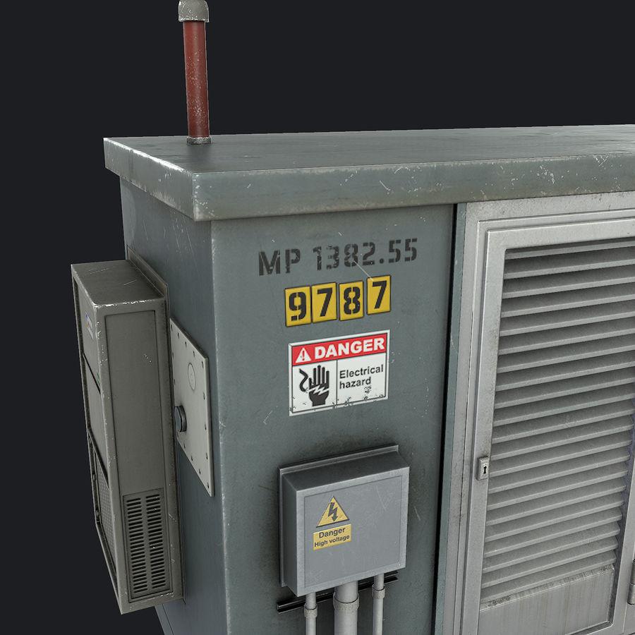 Elektronik Skydd 01 royalty-free 3d model - Preview no. 9