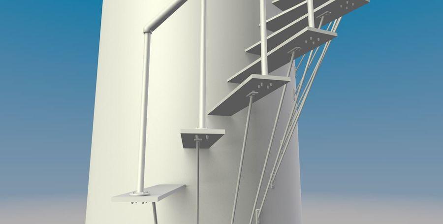 Lighthouse Punta Cankun royalty-free 3d model - Preview no. 5