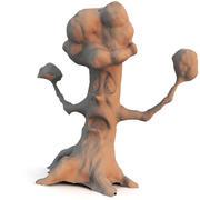 Arbre de dessin animé 3d model