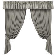 窗帘 3d model