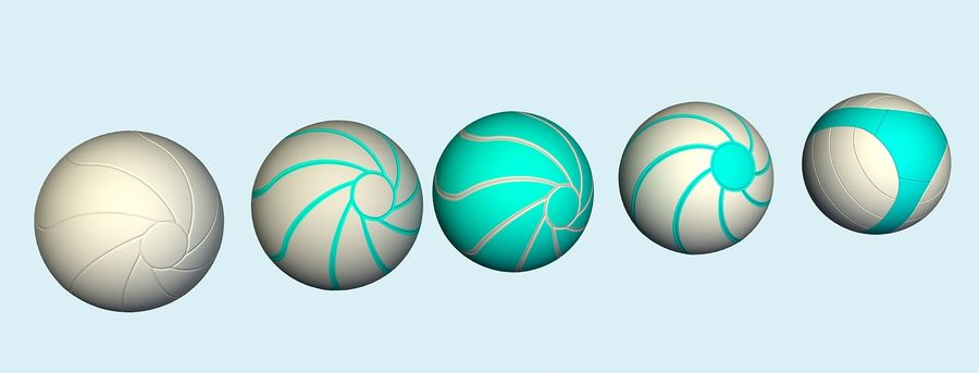 ballen royalty-free 3d model - Preview no. 9