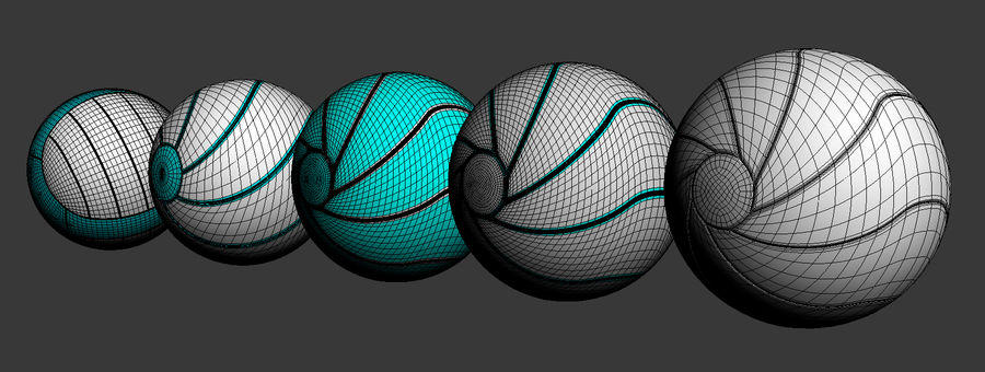 ballen royalty-free 3d model - Preview no. 10