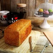 Loaf of Bread 3d model