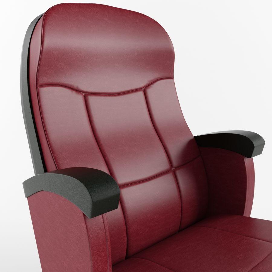 扶手椅电影院 royalty-free 3d model - Preview no. 5