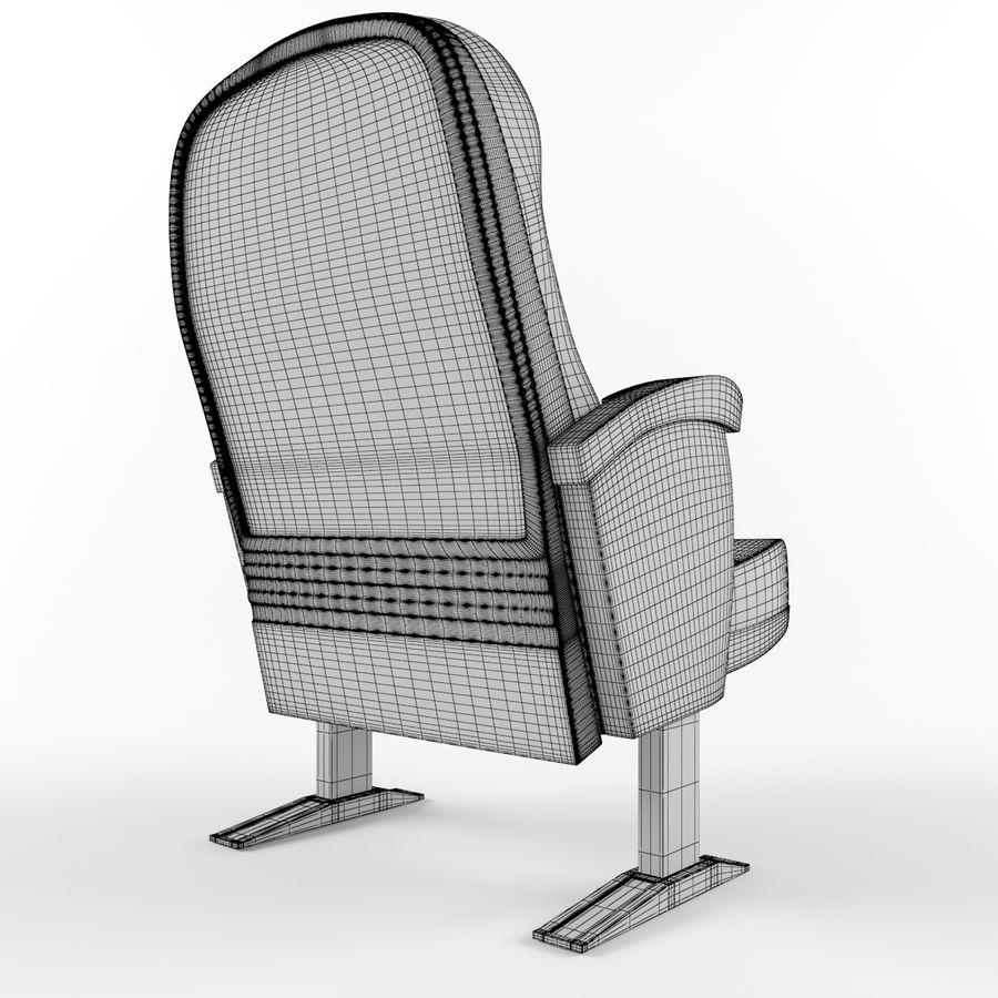 扶手椅电影院 royalty-free 3d model - Preview no. 4