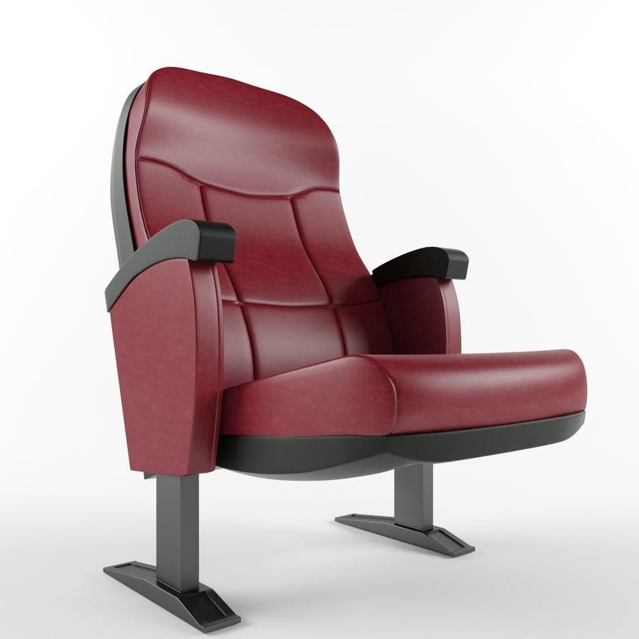 扶手椅电影院 royalty-free 3d model - Preview no. 1