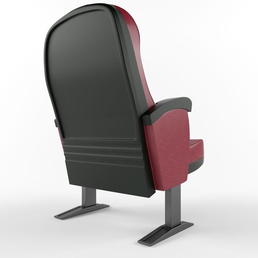 扶手椅电影院 royalty-free 3d model - Preview no. 3