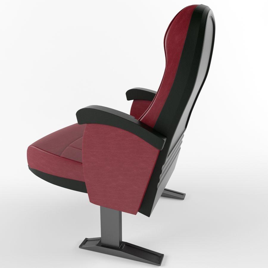 扶手椅电影院 royalty-free 3d model - Preview no. 9