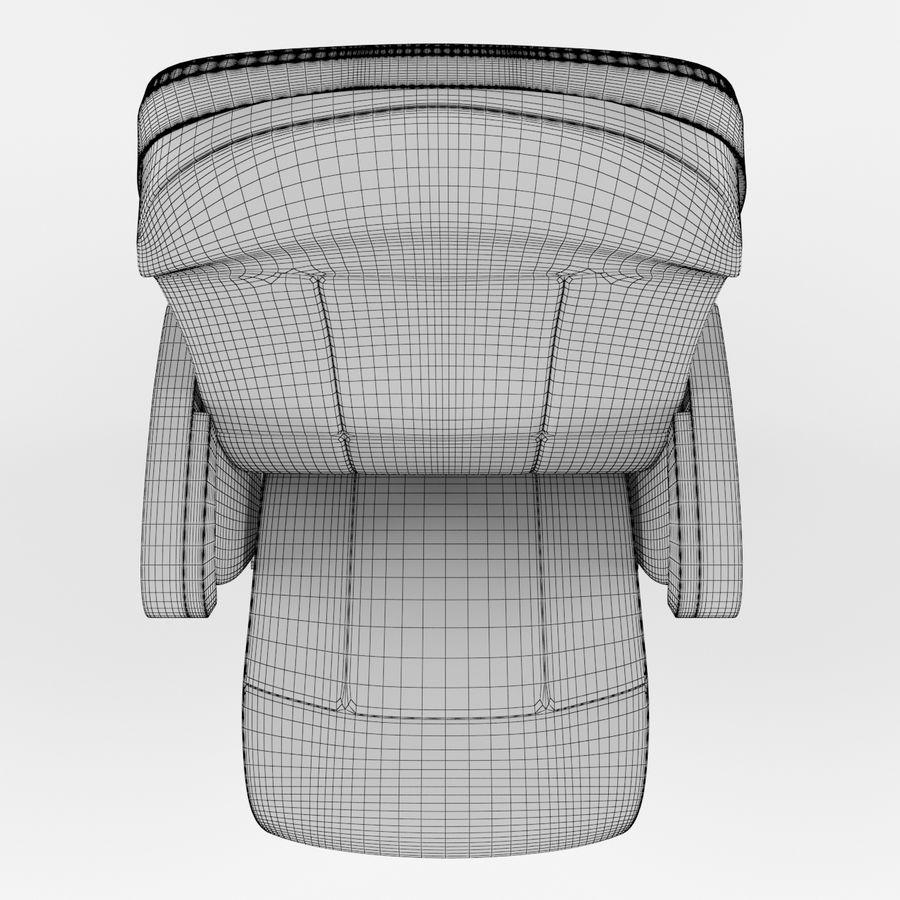 扶手椅电影院 royalty-free 3d model - Preview no. 8