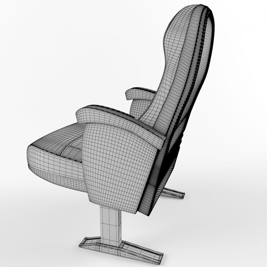 扶手椅电影院 royalty-free 3d model - Preview no. 10