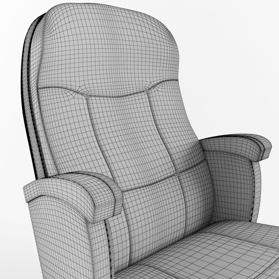扶手椅电影院 royalty-free 3d model - Preview no. 6