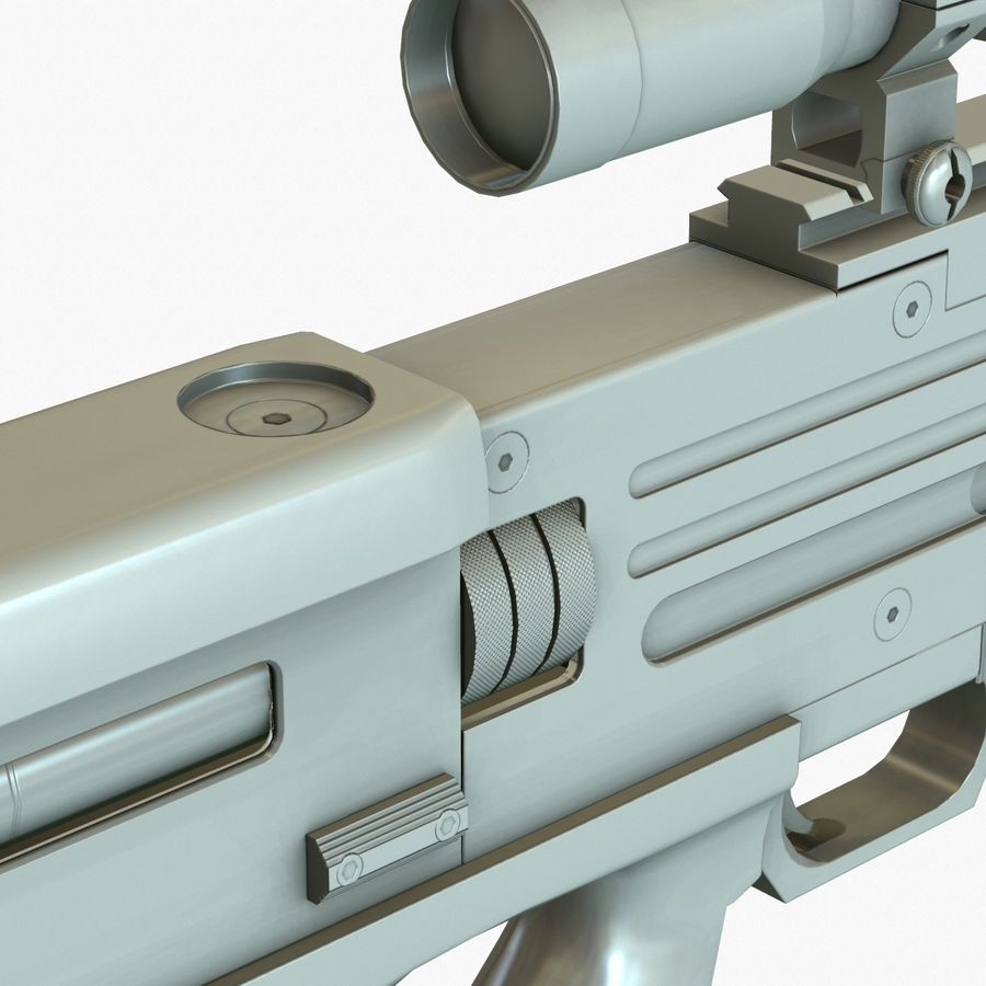 Walther WA 2000 Normalna mapa royalty-free 3d model - Preview no. 17