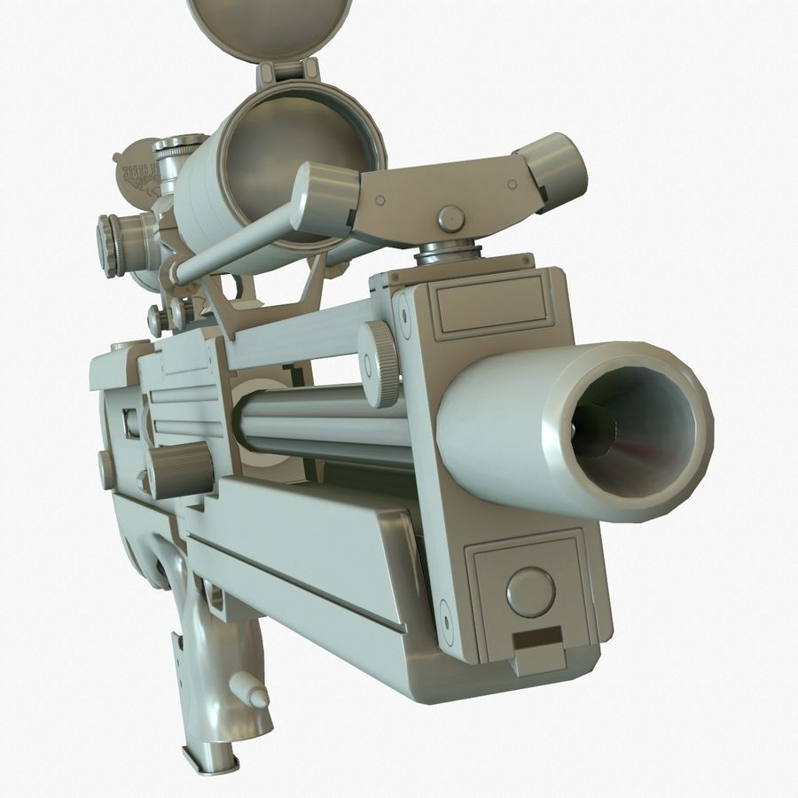 Walther WA 2000 Normalna mapa royalty-free 3d model - Preview no. 14