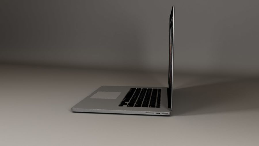 Laptop Computer royalty-free 3d model - Preview no. 2