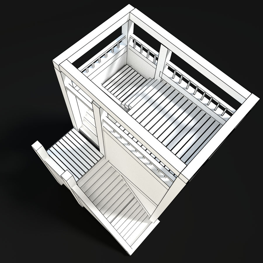 Watch Tower royalty-free 3d model - Preview no. 6