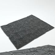 wykładzina podłogowa 3d model