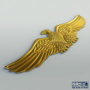 Águia dourada 3d model