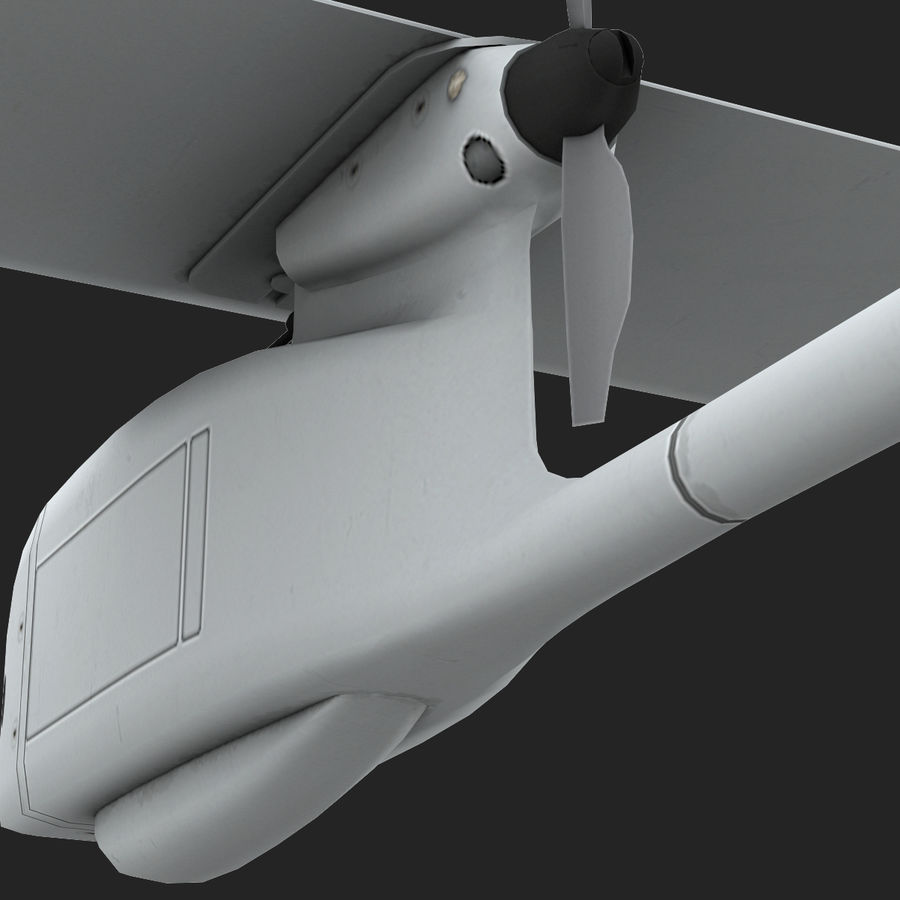 AeroVironment RQ-11レイヴン royalty-free 3d model - Preview no. 14