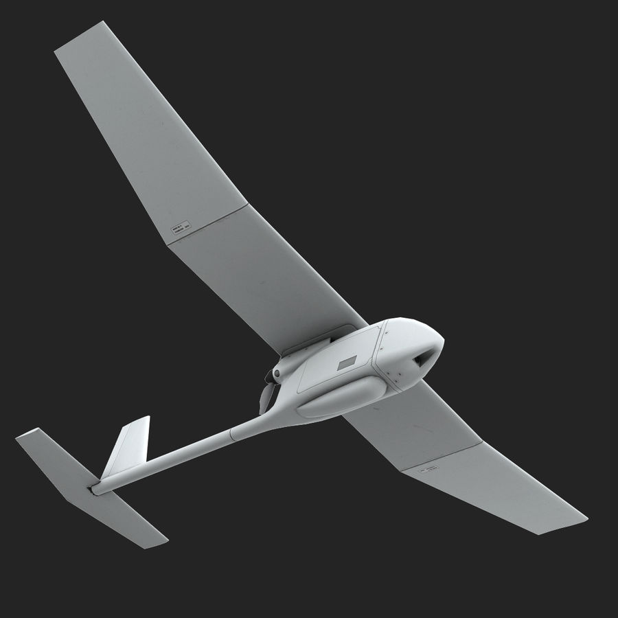 AeroVironment RQ-11レイヴン royalty-free 3d model - Preview no. 8