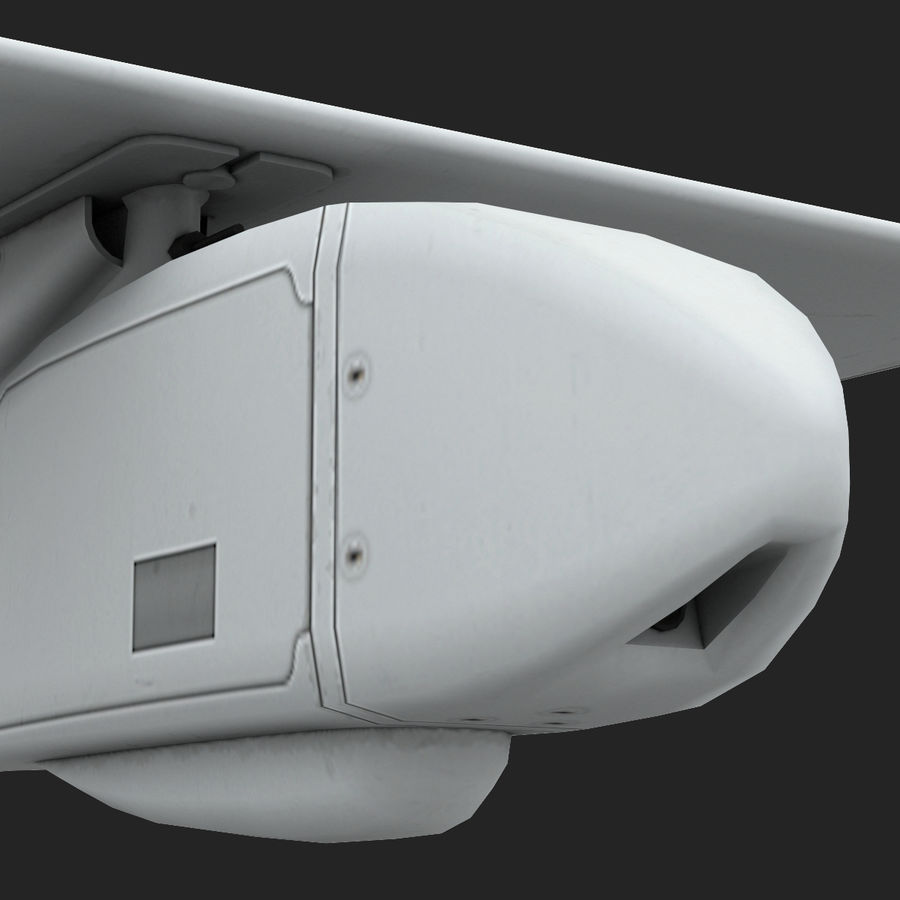 AeroVironment RQ-11レイヴン royalty-free 3d model - Preview no. 12